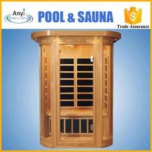 Luxury finland wood far infrared portable sauna room