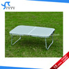 MDF top aluminum small portable folding table