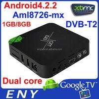 external smart tv tuner box wifi DVB-T2