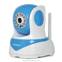 Mustcam H818P Wireless Infrared Camera IP Camera for iOS, Android, PC with Free Software, Onvif, WPS, AP Mode