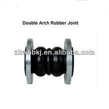 DIN/EN Single sphere flanged ends rubber bridge expansion joint