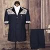 Safari clothing men safari dress short sleeve shirt wholesaler
