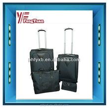 2014 china factory trolley case Four piece sets EVA luggae/suitcase