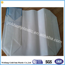 PP valve packaging bag for cement packing of 50kg, pp color printed material with valve mouth