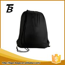 Promotional Drawstring Bag 33x39cm black cotton dust bags
