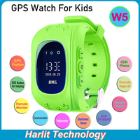 2015 New Smart GPS Tracking Watch for Kids, Children GPS Tracker Watch Phone Pedometer Function Anti Lost