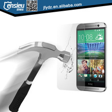 2015 New Arrival tempered glass screen guard for HTC M9