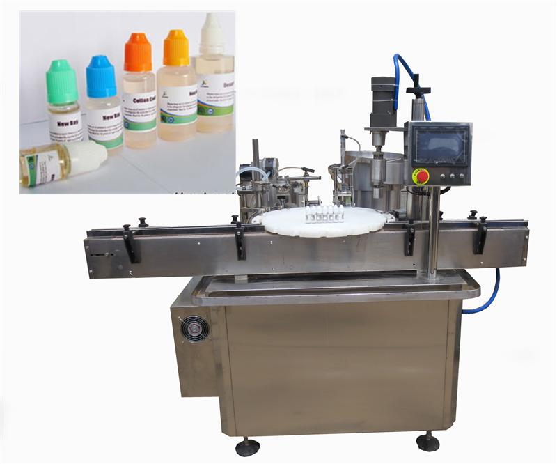 automatic e liquid filling machine