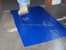 Good quality foot cleaning mat with blue color