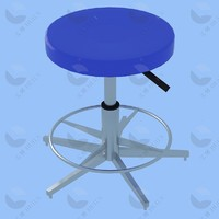 pneumatic Jack adjustable laboratory chair stool