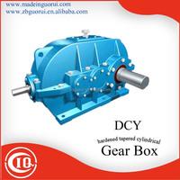 Zibo GVORVI Low price DBY/DBYK/DCY/DCYK/DFY Angel Shaft Mounted Bevel Gear Comer Gear speed reducer