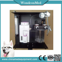 Virtual veterinary anesthesia machine for medical surgery