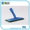 Euro style all purpose scrubber pad holder