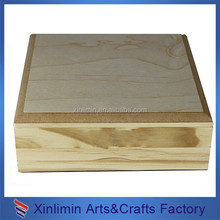 Nature wood gift boxes wholesale made in Xiamen