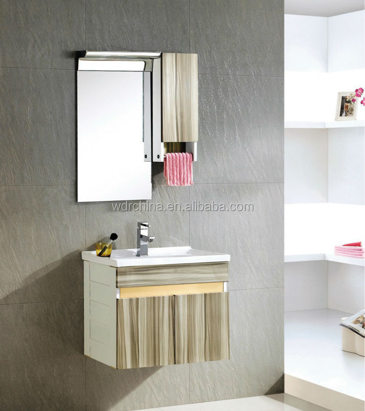 Wooden washing sink wall cabinet chinese bathroom for Bathroom cabinets pakistan