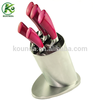 High quality stainless steel hollow handle kitchen knife set