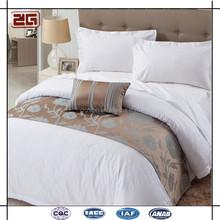 Pure Cotton Wholesale Jacquard Fabric Customized Hotel Brand Bedding Sets