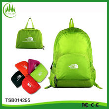 2014 new arrival wholesale nylon camping women outdoor folding back pack