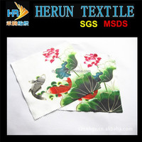 picture printed lens micorfiber cloth
