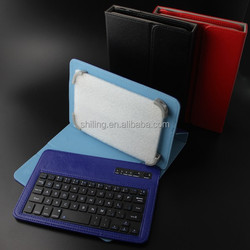 Leather Keyboard For 7 and 8 Inch Universal Keyboard Colorful Bluetooth Keyboard
