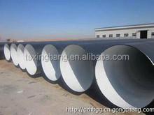 DN 800 mm black color oil pipeline 3pe coating