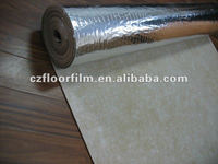 cushioning rubber roll for gym/bamboo floor/tile/floating floor/solid floo/laminate floor