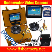 50m NEW Mytopia Underwater Fishing Video Waterproof Camera Colour LCD Monitor Screen with DVR