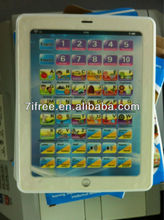 Spain lauguage Touch Screen English Learning Laptop Computer Baby Kid's Educational Tablet Toy