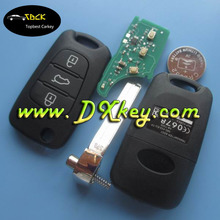 Best remote key for Hyundai flip key ix30 key fob Hyundai with 46 chip 433Mhz