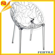 hot sale white crystal elegant acrylic chair furniture dining room chair wholesale