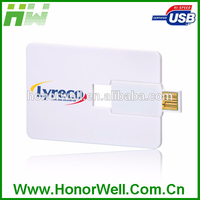 Portable Promotional full capacity business card usb flash drive, Hotsale business USB flash cards