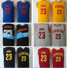 Cleaveland #23 LeBron James Jersey, New Material Rev 30 Sports Jersey, red ,yellow, white , blue,Cheap Basketball Jerseys S-XXL