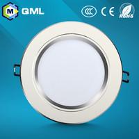 3w 5w7w 9w 12w 15w 18w led down light aluminum+acrylic for indoor using with 1 year warranty