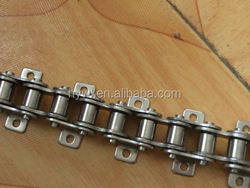 Double Pitch Stainless Steel Hollow Pin Chains with Large Roller (2042HP,2052HP,2062HP,2082HP)