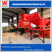 Brick making production line QT6-15 full automatic hydraulic brick/block making machine