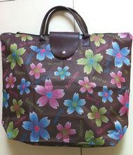Foldable rose shopping bag