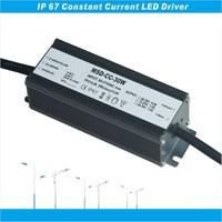 PF 0.98 EFF88% CE ETL SAA Rubycom capacitor waterproof 30w 1500ma led driver