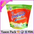 Yason personalizada bolso del regalo del organza claro y blanco de shenzhen de envasado de alimentos materiales de bolsas de cpe mantel