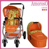 high quality folding color bed baby doll stroller