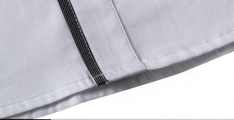 Новый 2016 весна осень хлопок рубашки высокое качество мужские свободного покроя рубашка, Свободного покроя мужчин плюс SizeXXXL уменьшают подходящий социальные рубашки