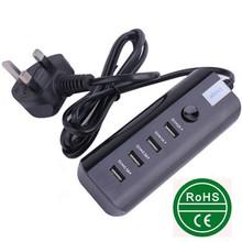 High quality new product usb extension socket UK plug with usb port hub charging ways