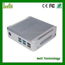Intel Haswell I3-4010U Nano pc station with fanless design