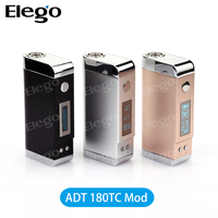 In Stock!!! Arctic Dolphin ADT 180W/ Original ADT 180W TC / ADT180 With Black/Silver/Gold fits Subtank Mini