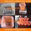 Used injection molds for plastic pots 8 cavities