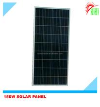 Framed 150W 30V poly solar panel
