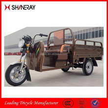 Moped Cargo Tricycles/Electric Tricycle Adults/Three Wheel Electric Motor Bike