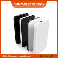 Latest design 5000mAh mobile phone charger slim power banks with good price