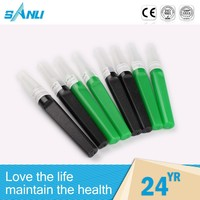 sterile custom rubber sleeve for blood collection needle