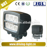 4x4 led lights ip67 heavy duty,tractors,auto led work light lamp 25w 40w 60w CREE 10W work light led with yellow/white lens
