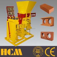 ECO BRB small scale brick production plant manual interlocking block machine block brick making machine